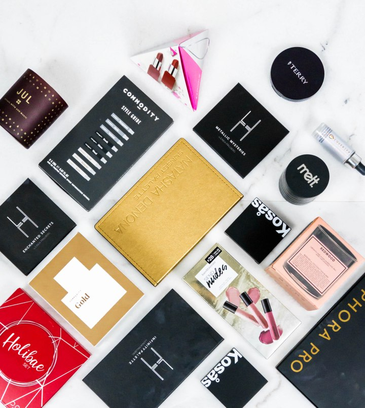 Holiday Gift Guide: Makeup & Scent Edit
